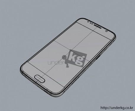 最接近真实 三星Galaxy S6渲染图曝光第4张图