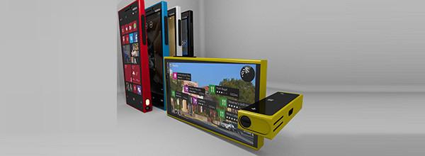 旋转镜头 诺基亚Lumia 1一周概念机汇总