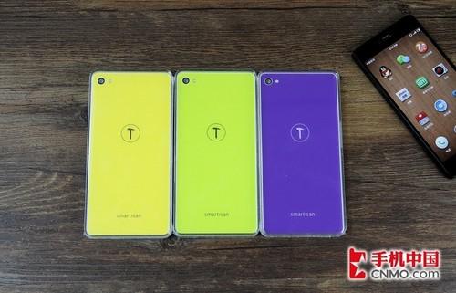 色彩缤纷时尚 锤子手机T1多彩后盖图赏