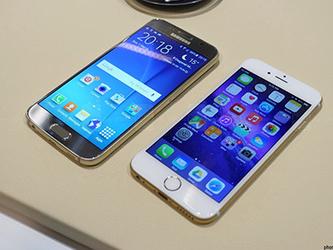 站在巅峰上的对决 三星S6对比iPhone 6