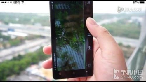 oppo无边框手机运行视频曝光
