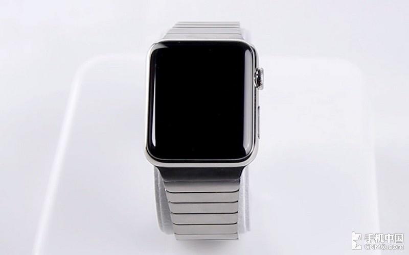 首发开箱 Apple Watch标准版+链式表带