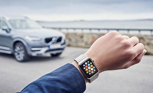 可远程控制汽车 沃尔沃推出智能手表app