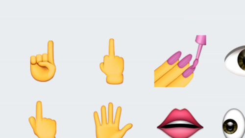 iOS9.1加入1竖表情图标动态徒基窗表情包中指竟然画错?图片