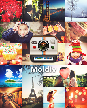 拼图神器《Moldiv》帮你上杂志封面