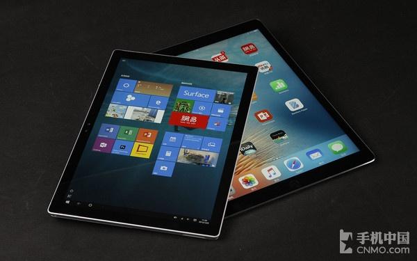 Surface Pro 4对比iPad Pro 苹果被完虐