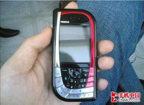经典滑盖手机 诺基亚7610报价250元