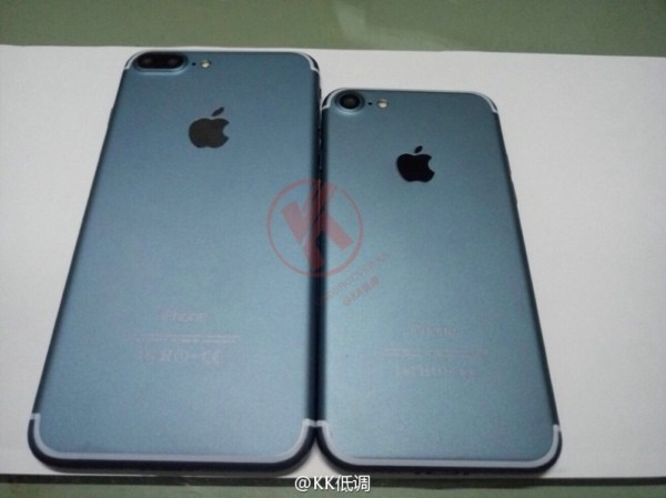 这下全了 iPhone 7 Plus蓝/黑色齐现身 第2张图