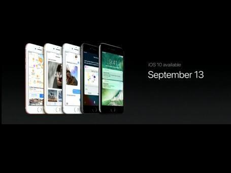 做好准备! iOS 10正式版将于13日推送
