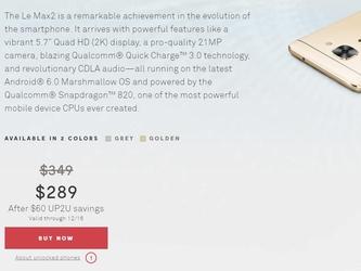 乐Max 2/乐S3即将登美 售价提前泄露