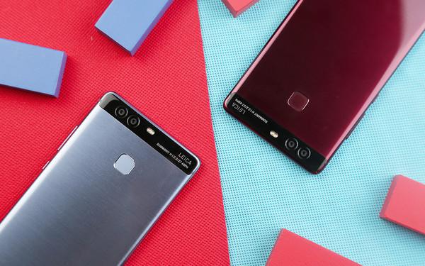 比亮黑色更潮 红蓝新色华为P9全面开售第2张图