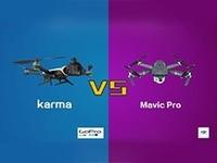 大疆Mavic Pro拼GoPro Karma 该剁手了