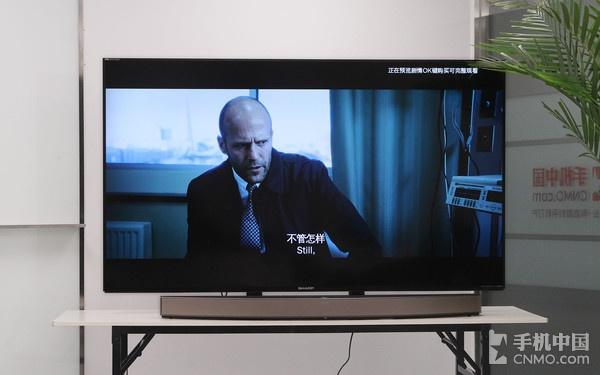 夏普清70�嫉缡犹逖� 私家影院般震撼
