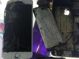 iPhone 6 Plus接连爆炸 现场惨不忍睹