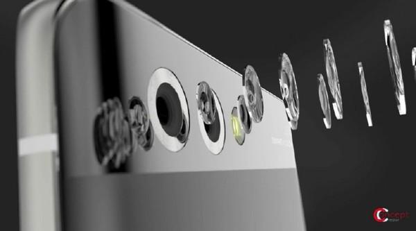 华为P10曲面版渲染图:惊艳的无边框