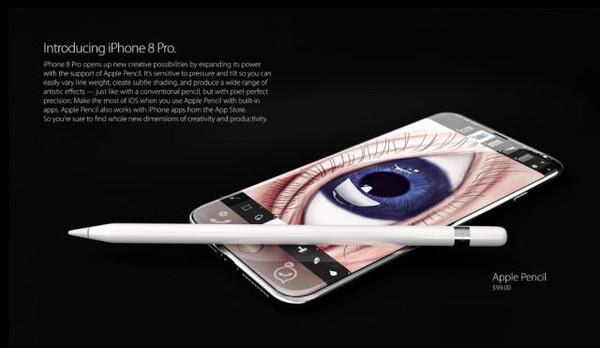 iPhone 8概念设计