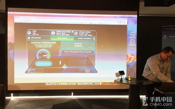 千兆级LTE网络测速