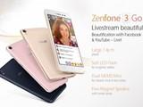 直播美颜机 华硕ZenFone 3 Go配置曝光
