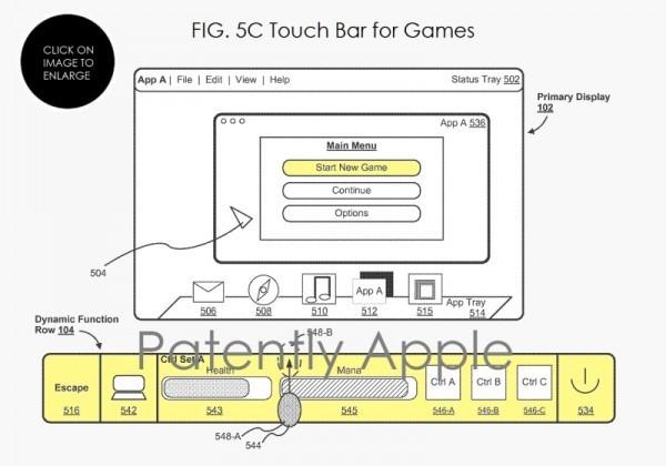 苹果拿到Touch Bar专利 可适用更多机型