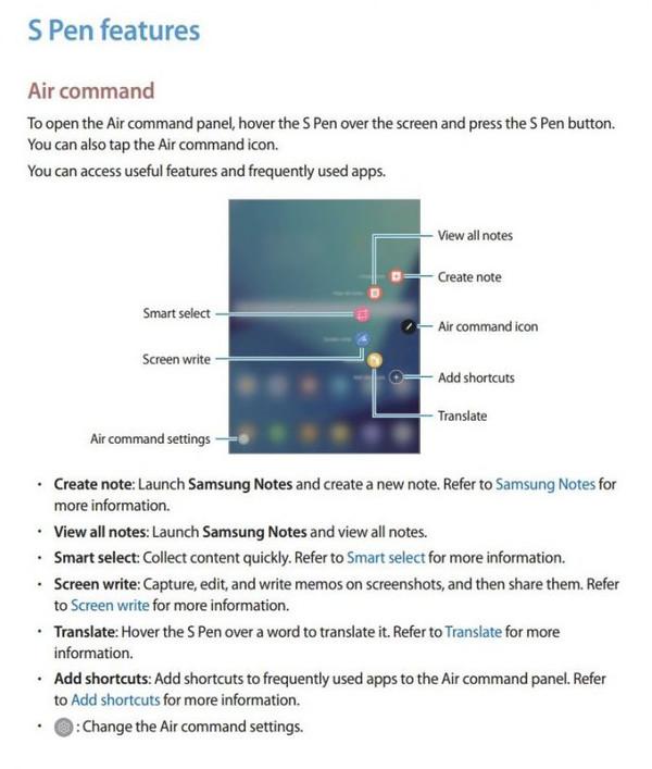 三星Tab S3曝光:外观设计细节获得证实