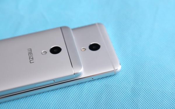 魅蓝5s(上)和魅蓝Note5(下)