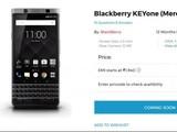 黑莓KEYone印度售价曝光 约为4117元
