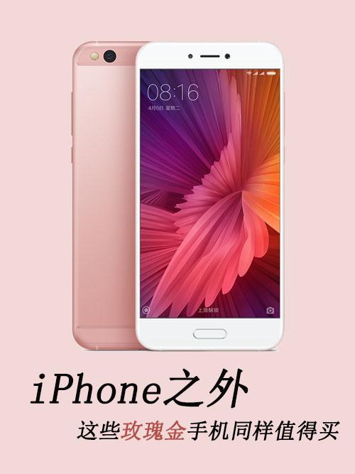 iPhone之外 这些玫瑰金手机同样值得买