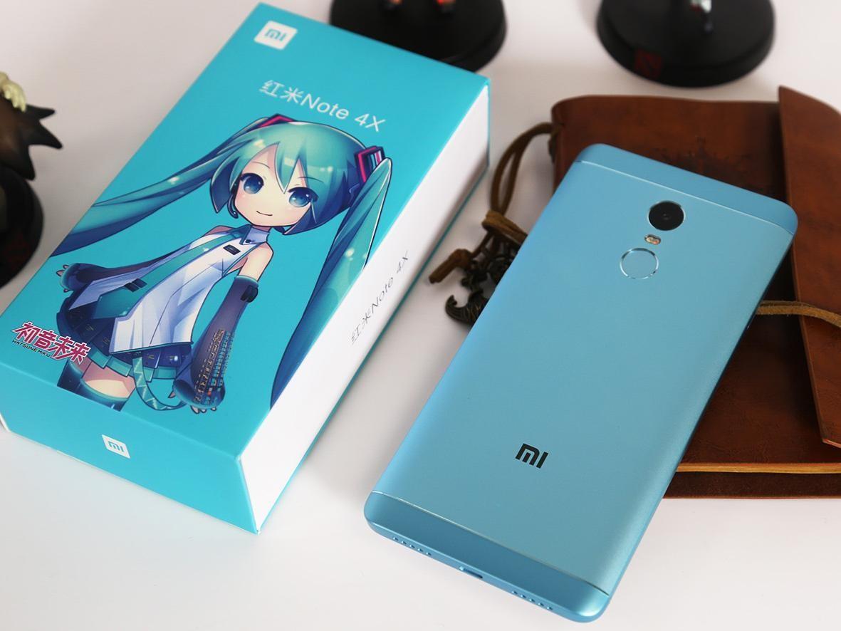 红米Note 4X图赏:【初音未来】专属配色