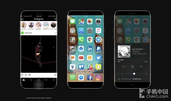实物模型曝光 iPhone 8可能就长这样了