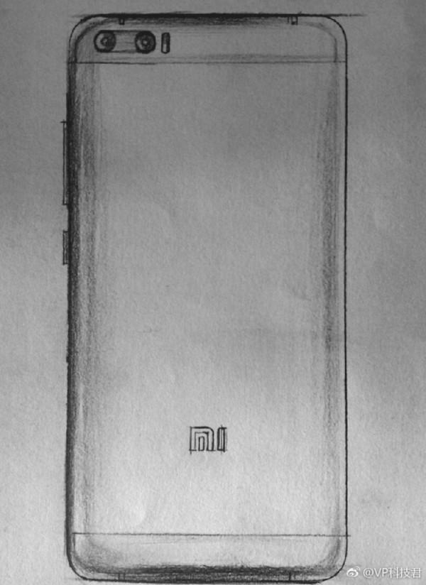 疑似小米6手绘图