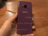三星S8再爆真机谍照 这次是紫色版本