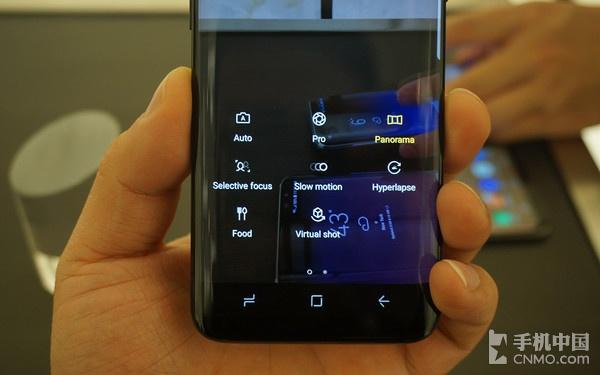 三星Galaxy S8拍照界面