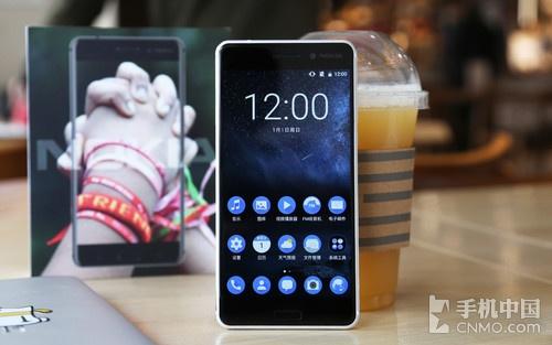 Nokia 6银白色版图赏:金属质感更强烈