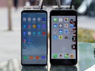 谁更强 三星S8+与iPhone7 Plus上手对比