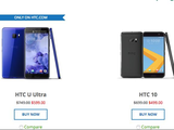 HTC U Ultra/10等大幅降价 最高300美元