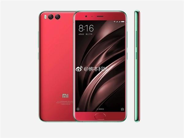 小米手机6红色款