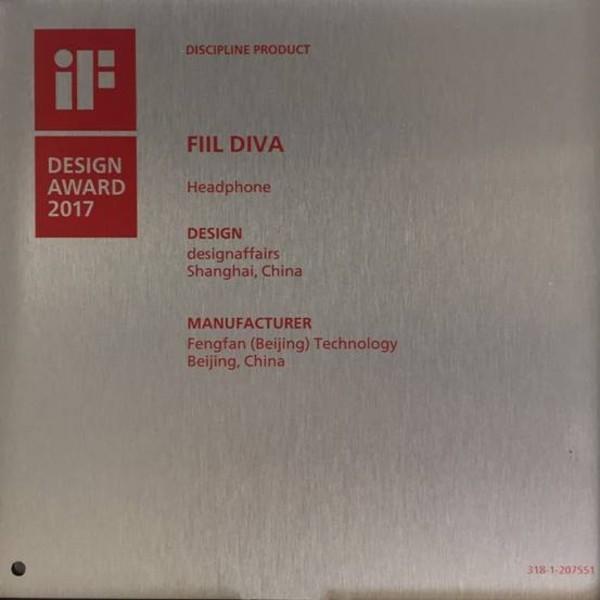 FIIL Diva耳机获IF设计奖