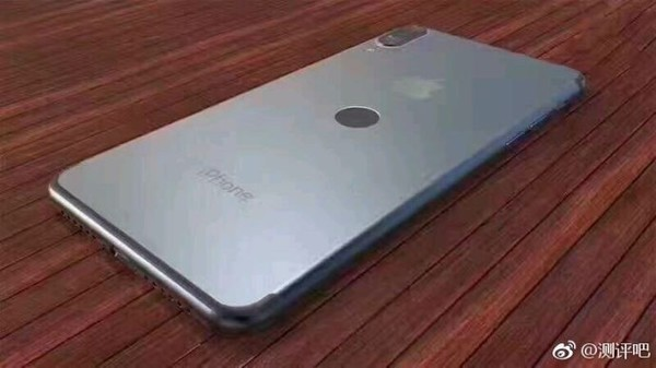 iPhone 8后置指纹识别