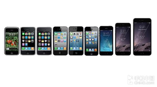iPhone的变化
