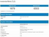 Moto Z2现身跑分网站 骁龙835+4GB内存