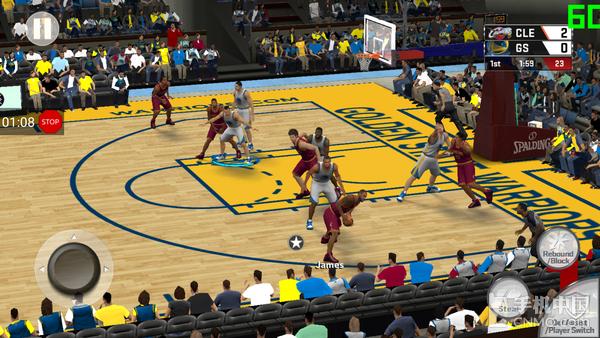 努比亚Z17玩《NBA 2K17》界面