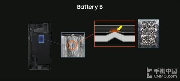 Note7燃损为电池原因