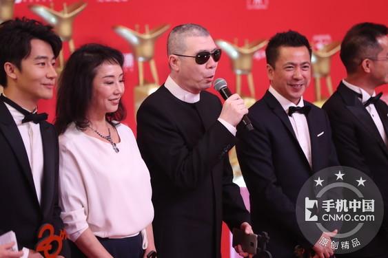 冯小刚携金立M6出席电影节