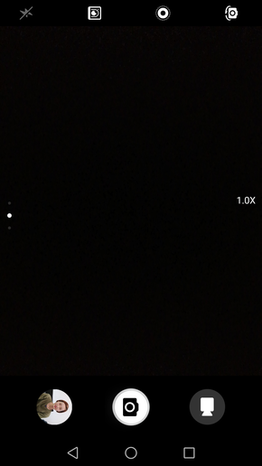 HUAWEI nova 2拍照界面