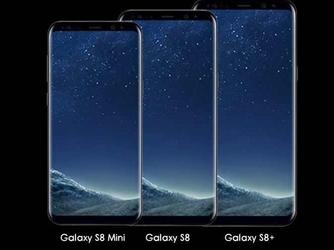 三星S8 mini曝光:5.3英寸全面屏设计