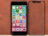 iPhone 8钢化膜曝光 无前置指纹开孔