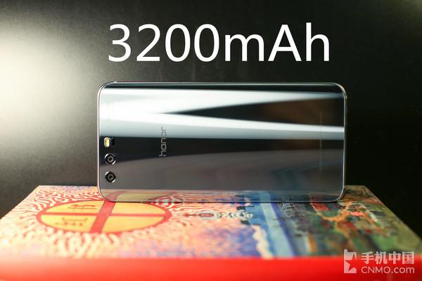 荣耀9搭载3200mAh电池