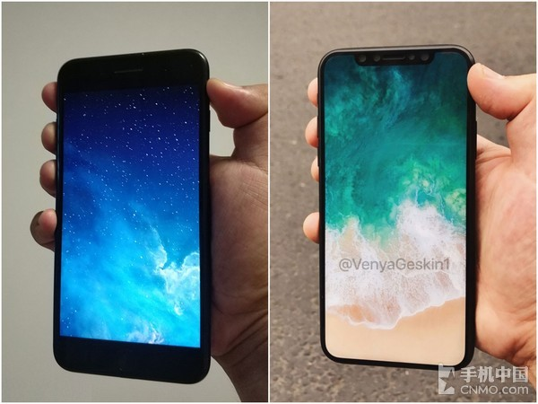 iPhone 8/iPhone 7P真机上手对比!变小了