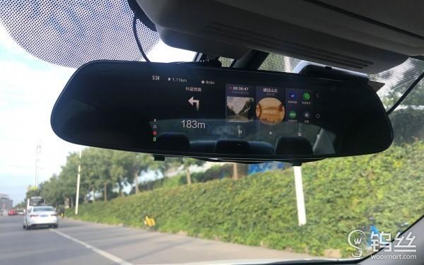 小蚁智能后视镜领航版 399元的行车助理