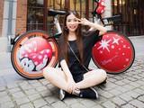 摩拜推限定版米奇米妮单车 已现身上海
